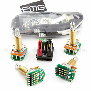 new emg solderless wiring conversion kit for 1 2 pickups. Black Bedroom Furniture Sets. Home Design Ideas