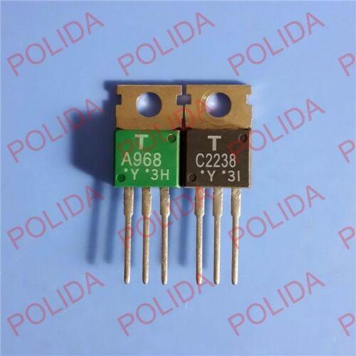 1PAIR OR 2PCS Transistor TOSHIBA 2SA968-Y//2SC2238-Y 2SA968//2SC2238 A968//C2238