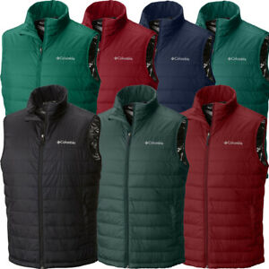 90-New-Mens-Columbia-034-Crested-Butte-II-034-Insulated-Omni-Heat-Omni-Shield-Vest