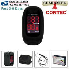 Finger Pulse Oximeter Fingertip Spo2 Sensor Heart Rate Blood Oxygen O2 Monitor