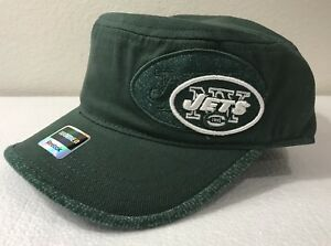 f6d9de70 New York Jets Women's Cadet Hat Cap Military Style Reebok NWT | eBay