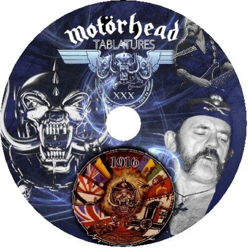 MOTORHEAD BASS /& GUITAR TAB CD TABLATURE GREATEST HITS BEST OF ROCK METAL MUSIC