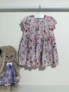 Next Kleid Gestuftes Jersey Sommerkleid Baby Mädchen Gr 68 ...