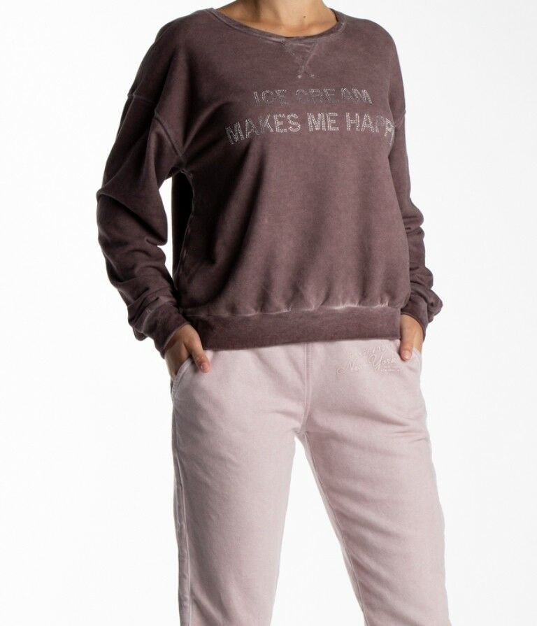 Better Rich Crew Sweat Happy Ny Women's Sweatshirt, SIZE  XS S M L XL New