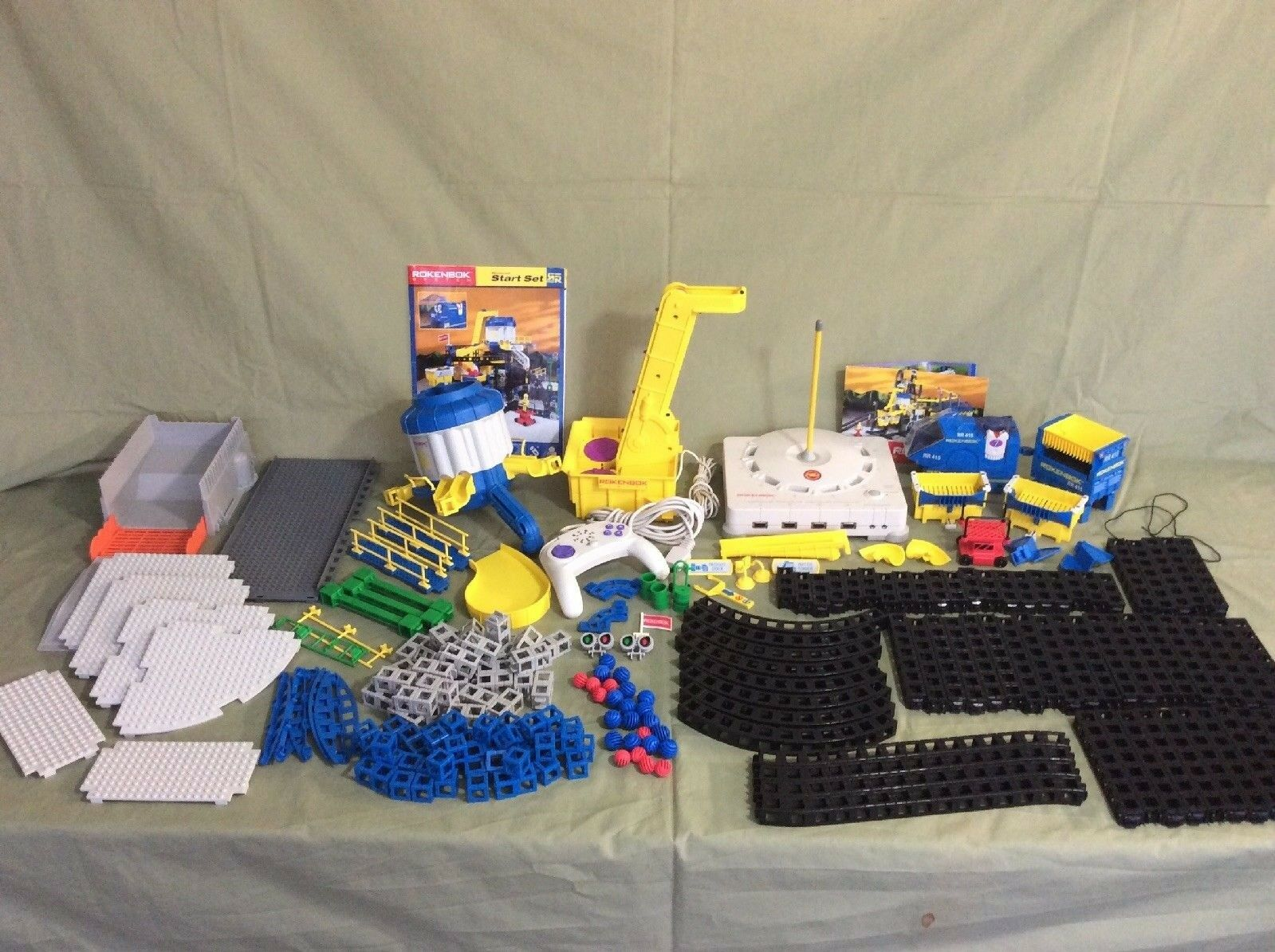 Huge Rokenbok Lot Over 230+ Pieces, Used