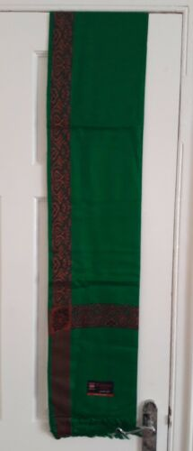 yemeni arabian kashmiri green shawl shemagh pakistani stole sufi scarf indian