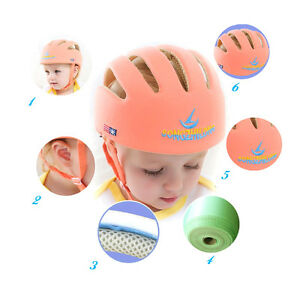 c60d948f7f8 Image is loading Baby-Toddler-Safety-Helmet-Cotton-Fabric-infant-bike-