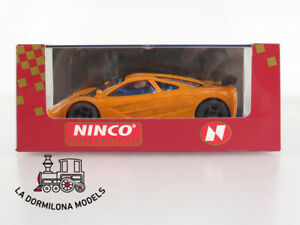NINCO-50142-McLAREN-F1-GTR-LM-ROAD-CAR-NARANJA-SLOT-CAR-NUEVO