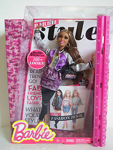 Barbie Style Doll Nikki With Lots Of Accessories 10 Page Fashion Book Ages 5 887961007459 Ebay