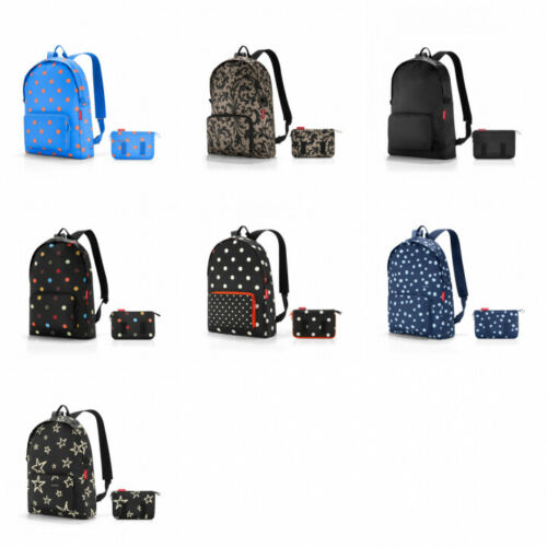 Reisenthel Mini Maxi Rucksack faltbar Citybag Reise Freizeit Funktional