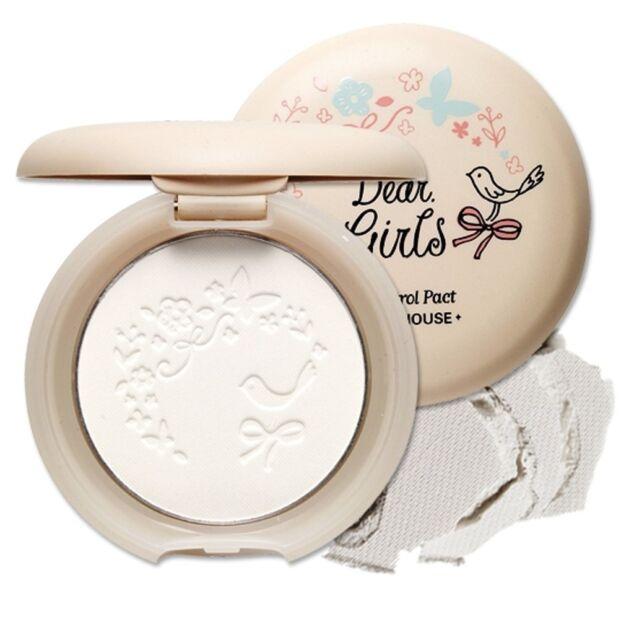 *ETUDE HOUSE*  Dear Girls Oil Control Pact 8g   -Korea cosmetics