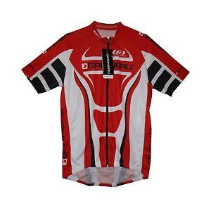 new Louis Garneau Fondo Tour Pro Fit men/'s cycling jersey micro air light f zip