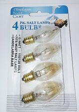 4-pack Himalayan Salt Lamp Bulbs 15 Watt 15W   4-15WCARD