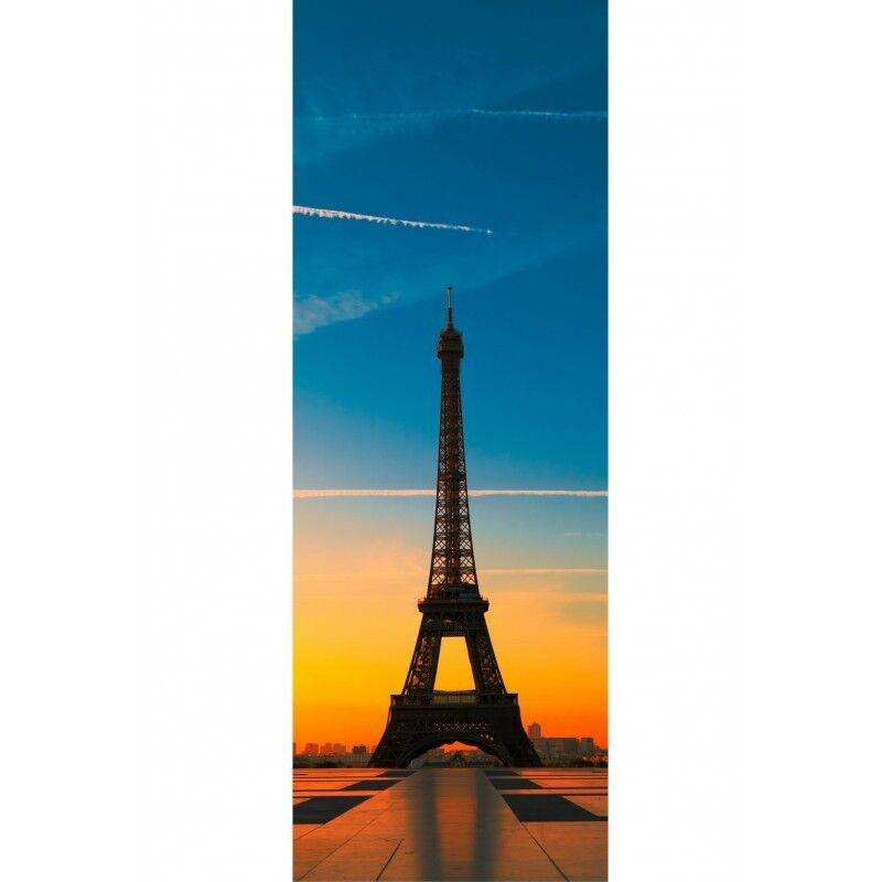 Aufkleber Tür Schein L \' Auge Eiffelturm 518