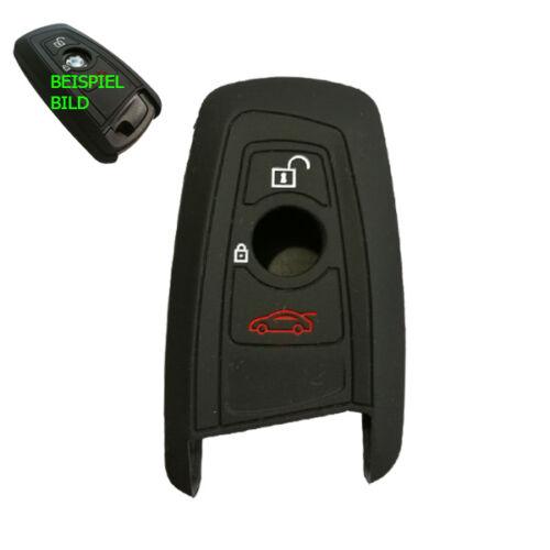 1x per BMW radio chiave chiavi della macchina in Silicone Guscio Astuccio Custodia Protettiva Nero
