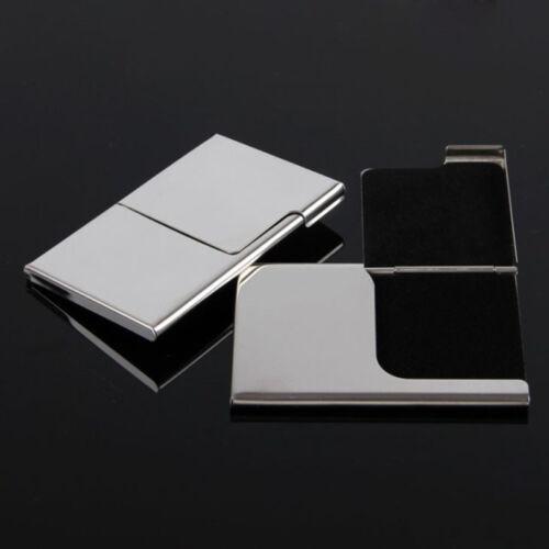 Kreditkartenetui Brieftasche Heiß Visitenkartenetui Edelstahl  Visitenkarten Hot