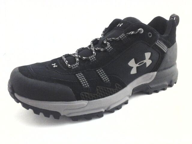 59a7d5c80f1 UNDER ARMOUR Hiking Shoes Boots Post Canyon Black 1287344 Men's US 11.5 EU  45.5