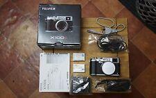 Fujifilm Fuji Finepix X SERIE X100S 16.3MP - Argento (Solo Corpo) 2 BATTERIE UK