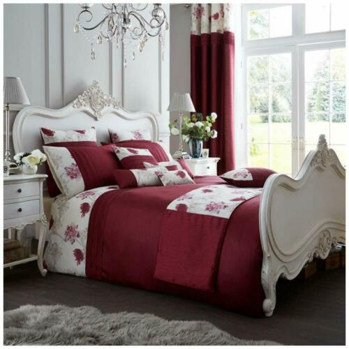 Koh Luxury Modern Duvet Quilt Cover Bedding Set with Pillow Case All Sizes