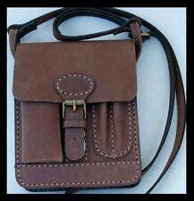 1a oggetti da qualità Messenger Top Bag in pelle Uomo Borsa Nuovo Marrone Antico PSP. KL. *