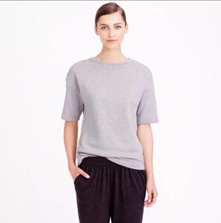 Demylee New York for J. Crew  Minimalist Short Sleeve Sweater Top Sz Small