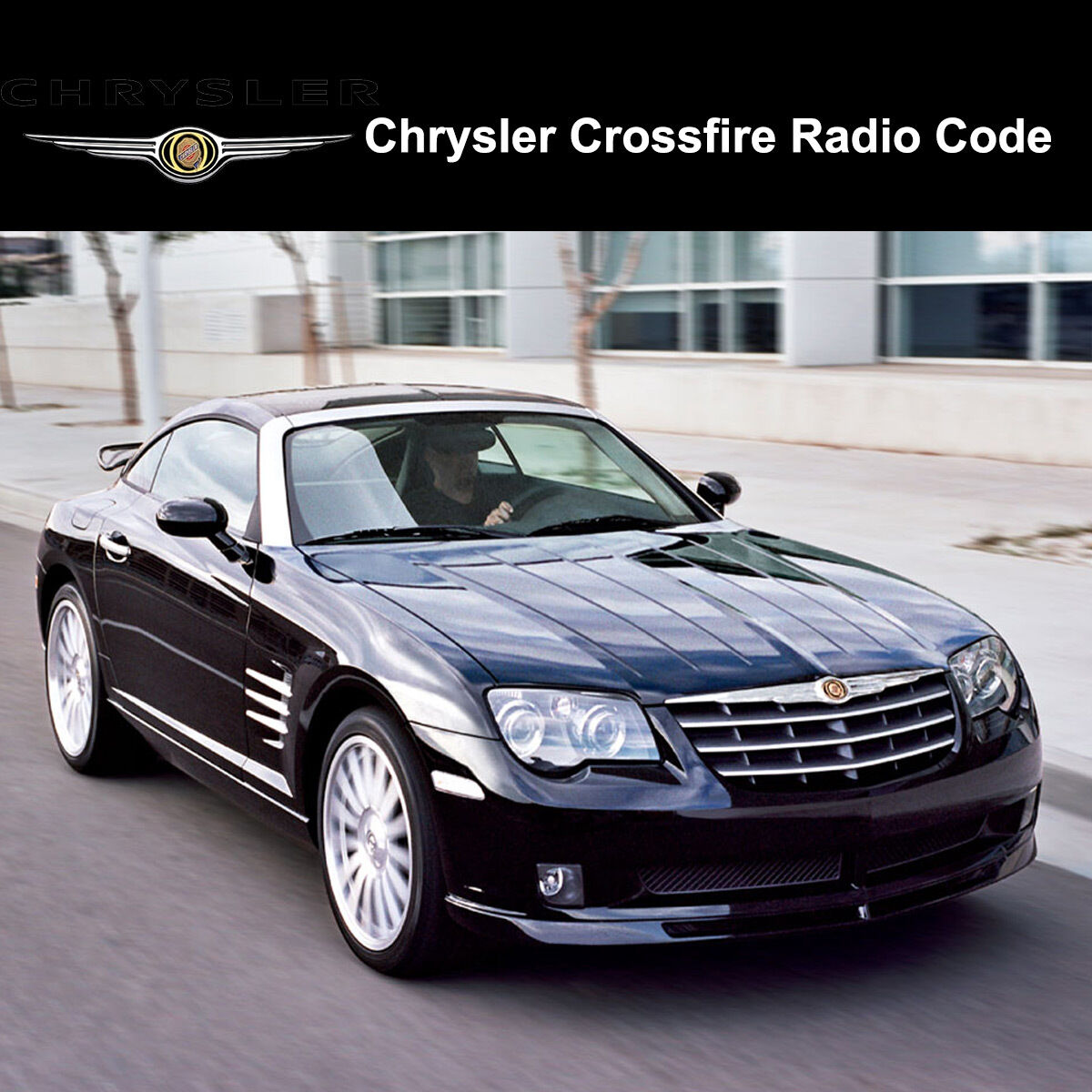 Details about Chrysler Crossfire Radio Codes Stereo Codes Pin Unlock Code  Fast Service