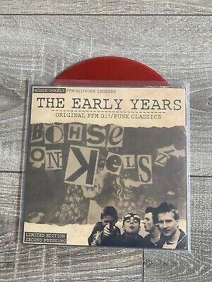 Böhse Onkelz The Early Yesrs Red Singel Vinyl Limited