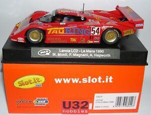 Slot-it-CA21F-Lancia-LC2-85-54-Le-Mans-1990-Tauring-Monti-Magnani-Hepworth-MB