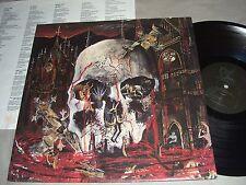 SLAYER South of Heaven VINYL LP record 1988 1st Ed.Def Jam GHS 24203 album EX/VG