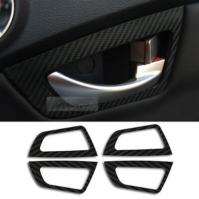 Interior Door Catch Cover Carbon Decal for SSANGYONG 2014-2015 Actyon / KorandoC