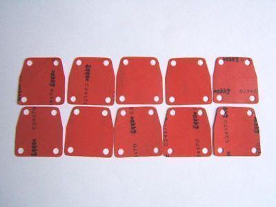 S761 SOLEX VELOSOLEX 10 MEMBRANES ROUGES