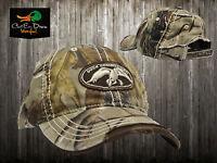 Authentic Duck Commander Dynasty Hardwoods Camo Hat Cap Buck