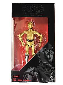 Hasbro-Star-Wars-Black-Series-6-034-Rogue-One-C-3PO-Silver-Leg-Walgreens-Exclusive