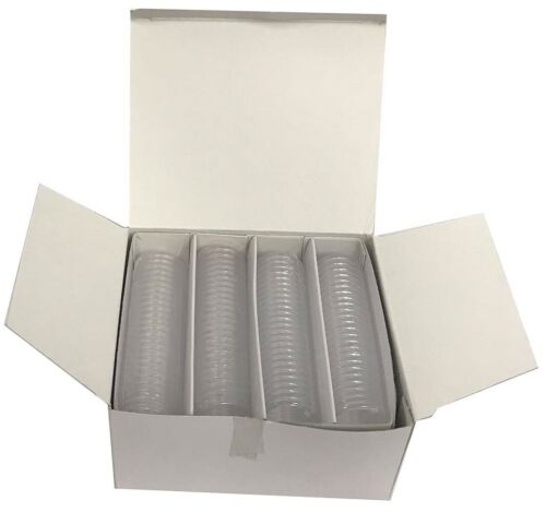39mm Coin Capsules Fit $5 Canadian Silver Maple Leaf Lighthouse 100 New Holders