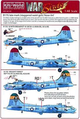 Eduard 1//48 Mask B-17G antiglare panels BO /& DL prod EX568