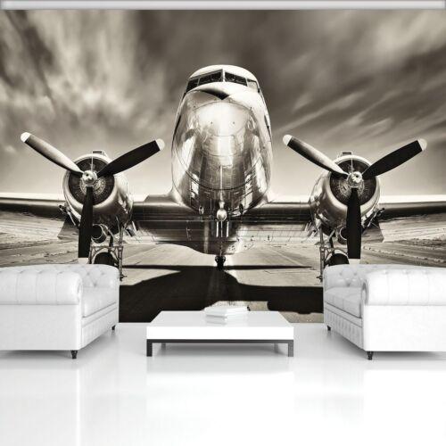 Fototapete Tapete Wandbild F411728/_P Photo Wallpaper Mural Flugzeug