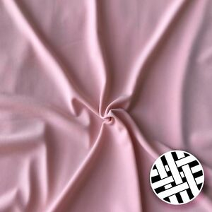 6db1599b31b ITY Jersey Knit Fabric - 60 Colours Sold By the Meter   eBay