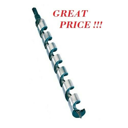 """1/"""" x 7.5/"""" Greenlee Nail Eater /""""Shorty/"""" Model 61-PTS-1 Wood Bit"""