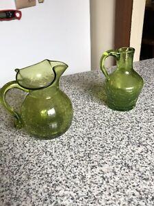 crackle-glass-Light-Green-Color-Set