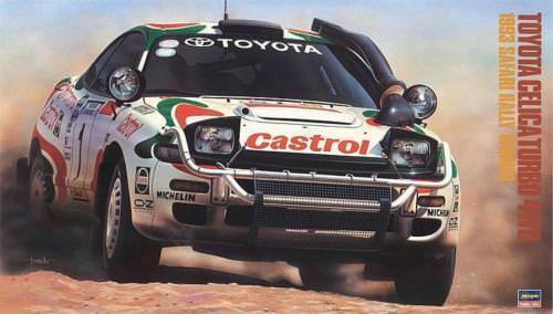 HASEGAWA 1 24 TOYOTA CELICA TURBO TURBO TURBO 4WD 1993 SAFARI RALLY WINNER  ART. 20309 6053ad