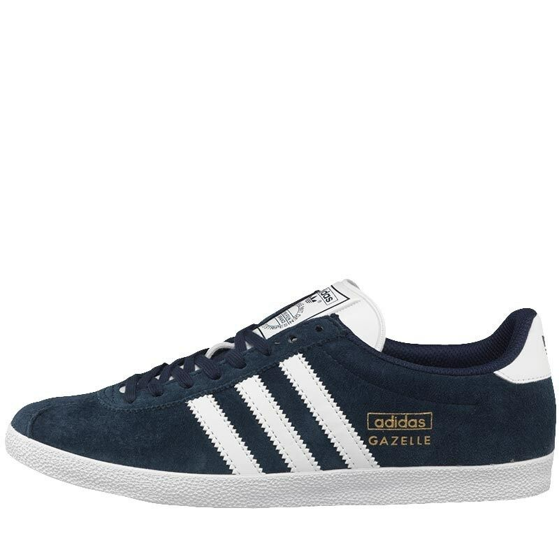 Adidas Originals Gazelle OG Trainers UK9 Q21600 SUED 8000 torsion ZX NMD JEANS