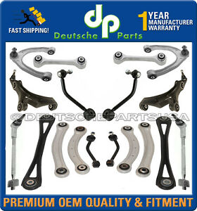 VW TOUAREG UPPER LOWER Control Arm Arms Ball Joint Joints Tie Rod SUSPENSION KIT