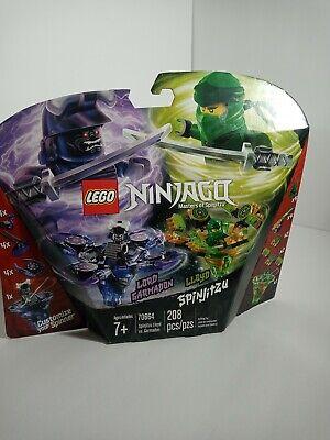 208 Pieces LEGO NINJAGO Spinjitzu Lloyd vs Garmadon 70664 Building Kit