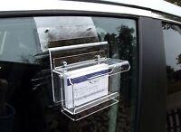 Visitenkartenbox Wetterfest,für Autoscheiben,visitenkartenständer,visitenkarten