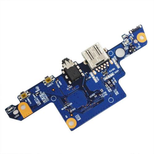 USB PCBA Audio Power Button Board HP 15-aq120nr 15-aq123ca 15-aq155nr 856808-001