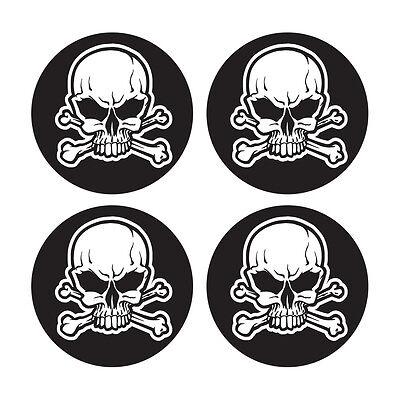 Sporting Goods Skull And Crossbones Decal Sticker Set Baseball Softball Bat Knob Decal Set