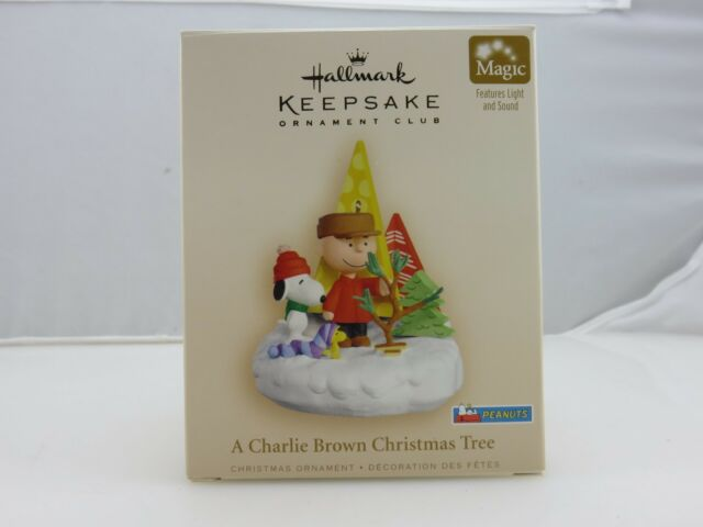 Hallmark Keepsake Ornament A CHARLIE BROWN CHRISTMAS TREE Peanuts Series NEW - A Charlie Brown Christmas Peanuts Hallmark Keepsake Ornament EBay