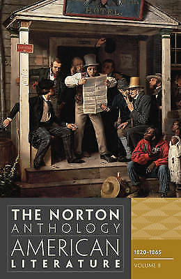 """1 of 1 - The Norton Anthology of American Literature: 1820-1865 v. B """"BRAND NEW"""""""