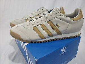 Details about Adidas Originals Rom OG Retro Vintage Look Shoes Sneaker Brown White Mens CG5989
