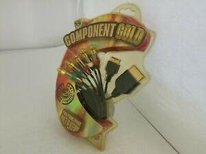 GAME-ELEMENTS-GOLD-COMPONENT-AV-CABLE-FOR-ORIGINAL-XBOX-PS1-PS2-PS3-H17